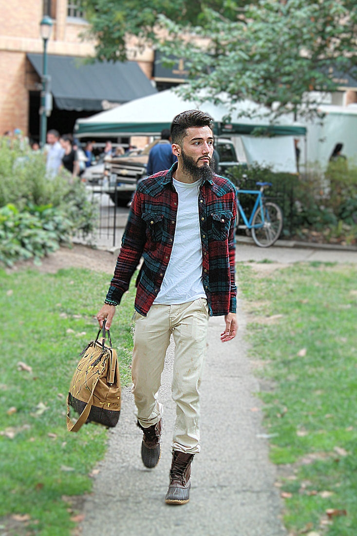 Street style flannel shirts unregisteredstyle for How to wear men s flannel shirts