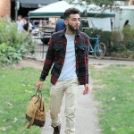 Street Style: Flannel Shirts