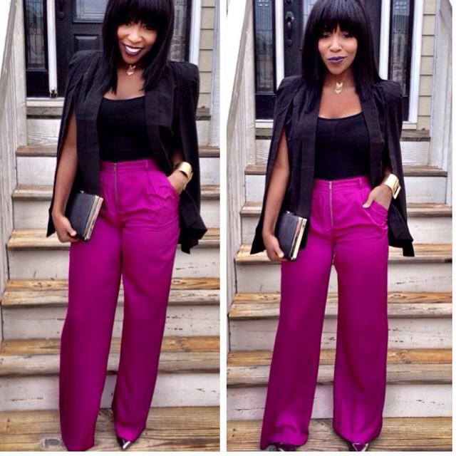 Post by fashion blogger @charlotteboybreeze :: @_indiamonae