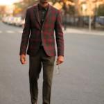 Strictly Business: Plaid Blazer
