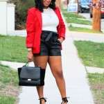 After 5: Leather Shorts