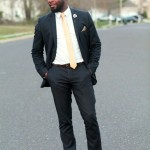 Strictly Business: The Navy Suit