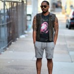 Street Style: Printed Vest