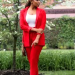 Strictly Business: The Red Suit