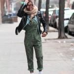Street Style: Camo Jumper