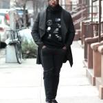 Street Style: Cowl Neck Coat