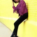 Street Style: Fringe Jacket