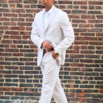 Strictly Business: Linen Suit