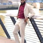 Strictly Business: Khaki Suit